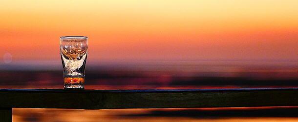 Feierabend nach dem Sonnenuntergang am Golf von Carpentaria