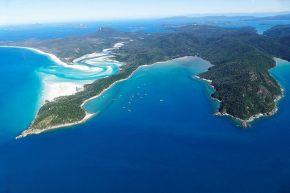 beeindruckend – die Hauptinsel der Whitsunday-Gruppe