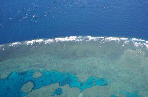 atemberaubend – der Anflug auf das äußere Great Barrier Riff