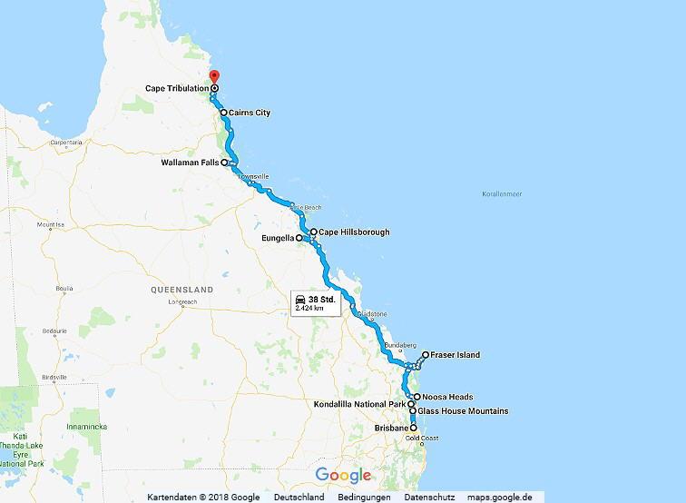 Australien Statistik Teil 10, Brisbane - Cairns