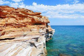 interessante Küste südlich von Broome