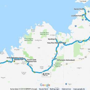 Australien Statistik Teil 13, Darwin - Broome