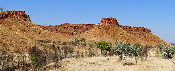 eindrucksvolle Landschaft am Escarpment von Ngunjiwirri