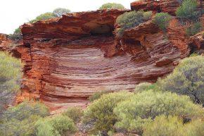 Die Schlucht des Murchison River ist ein Paradies für Wanderer und Geologen.